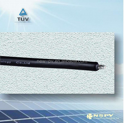 TUV standard XLPE copper tin plated pv1-f 4mm2 dc power cable
