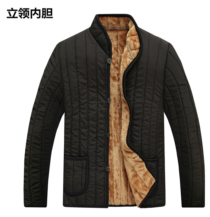 Latest design fast delivery Mens Winter inner warm jacket