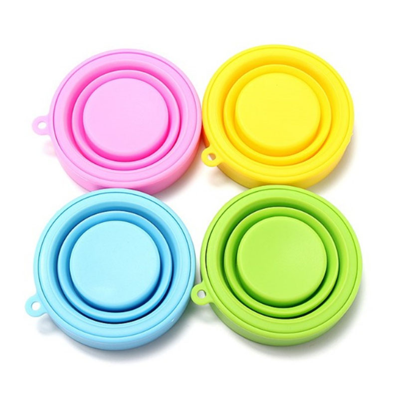 Good quality outdoor collapsible drinking silicone fold cup