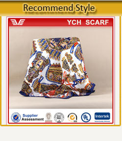 Wholesale printing fashion scarf for woman