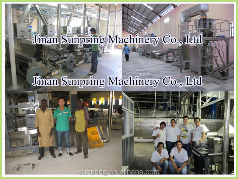 Full automatic core filled pillow snacks food machinery