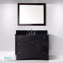48'' Solid Wood furniture Italian Bathroom Vanity by Chinese factory