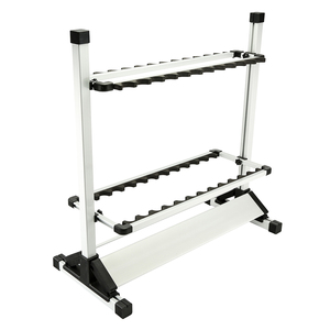 HONOREAL Aluminum Rod Holder Rack for Fishing Rods