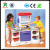 Hot sale home make delicious food kids kitchen set toy kitchen play game set QX-162E