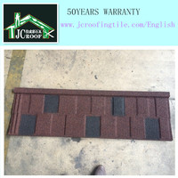 Classical Colorful Stone Coated Metal Roof Tile/ Building Construction Material Manufacturer