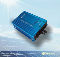 Grid Tied Inverter 260W Micro Solar Inverter, DC22V~50V to AC220V On Grid Inverter with Power Line Carrier-current Communication