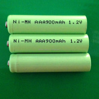 Microphone application ni-mh AAA 900mah rechargeable battery