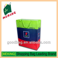 china suppliers handle style pvc coated cotton bag for packing clothes