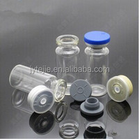 Medical tear/flip off cap for Clear and Amber Tubular Glass Vial Bottle