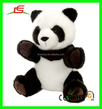 CE standard lovely soft good quality cheap plush panda toys for sale