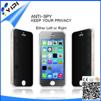 Anti-Glare 2.5D Privacy Screen Protector for iPhone5 Screen Protector Customized