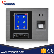 Top selling cheap face and fingerprint time clock employee time attendance system with camera