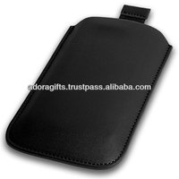ADALMC - 0013 genuine leather mobile case manufacturer / popular leather covers for mobile / cheap pouch for mobile phone