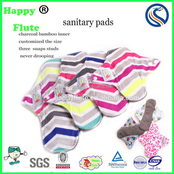 lady DAY sanitary cloth napkins soft menstrual pads reusable