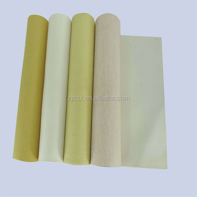 PPS dust filter cloth water and oil repellent