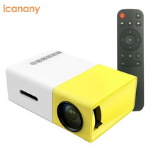 YG300 Portable Mini projector hd 1080p Pico Full Color LED Projector with battery