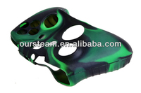 camouflage silicone rubber skin housing for xbox one controller cover
