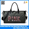 New design latest fashion nylon women shopping duffel travel bag with handle