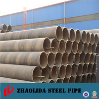 Best Quality helical steel pipes for line pipes