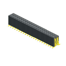 CAP optional 1.27mm female header dual row,H=5.7mm PCB application China factory