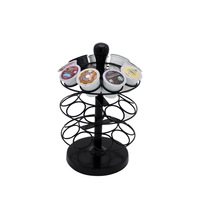 Nifty Coffee Pod storage, Coffee Capsule Holder K-Cup Carousel - Holds 36 K-Cups