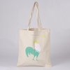 Custom printing wholesale cotton canvas tote bag/canvas packaging bag