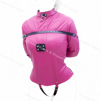 Straitjacket Women Leather Sexy Bondage Lingerie Body Harness Costume Sex Products For Couple