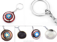 (Wholesale) Custom Cartoon Ironman Keychain 3D Custom Shaped Captain