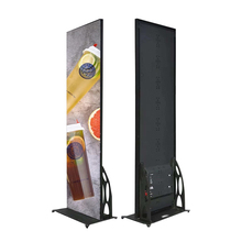 Indoor Full color P1.2 led display screen slim panel banner