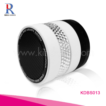 Multifunctional New Angle Digital Mini Crystal Bling Rhinestone Speaker