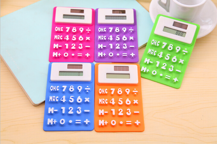 Wj022 Korean Keyboard Style Color Office Use Silicone