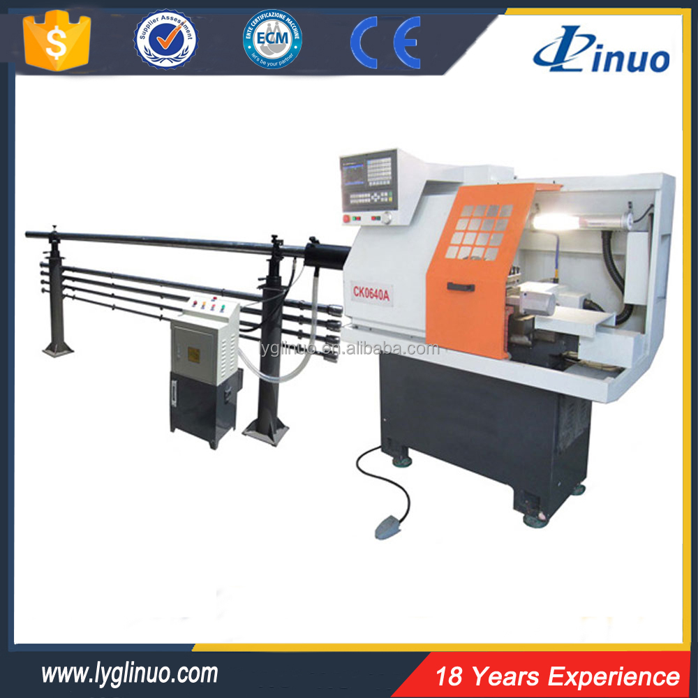 Automatic small high precision CK0640A mini cnc lathe for sale
