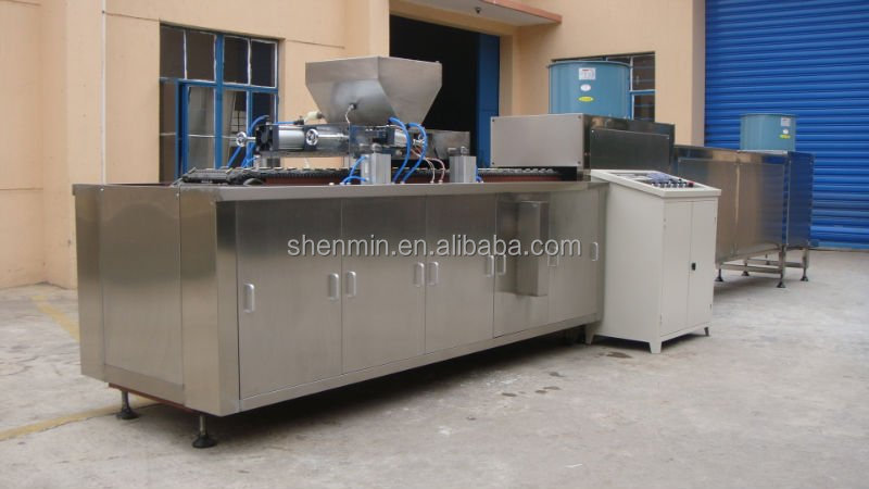 Carrageenan jelly candy making machine factory machine milk coating candy machine