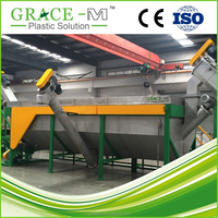 HDPE PE PP LDPE Pipe crushing washing line washing machine recycling machine