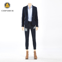 Dark Blue Casual Blazers Wholesale For