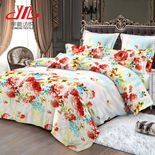 Hot Sale Woven Fabric Polyester Microfiber Fabric Bed Sheet