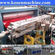 sale pvc Corrugated board production line