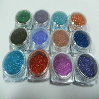 Shinning and dazzing heat and solvent resistant glitter pigment