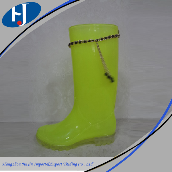 High quality cheap sex ladies rubber boots
