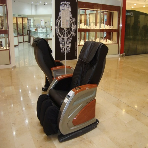 Healthcare Full Body Paper Money Operated Massage Chair Portable