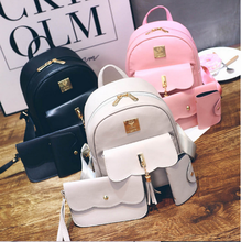 2020 Wholesale Women hand <strong>bag</strong> Ladies <strong>bag</strong> set 3pcs Backpack <strong>bags</strong>