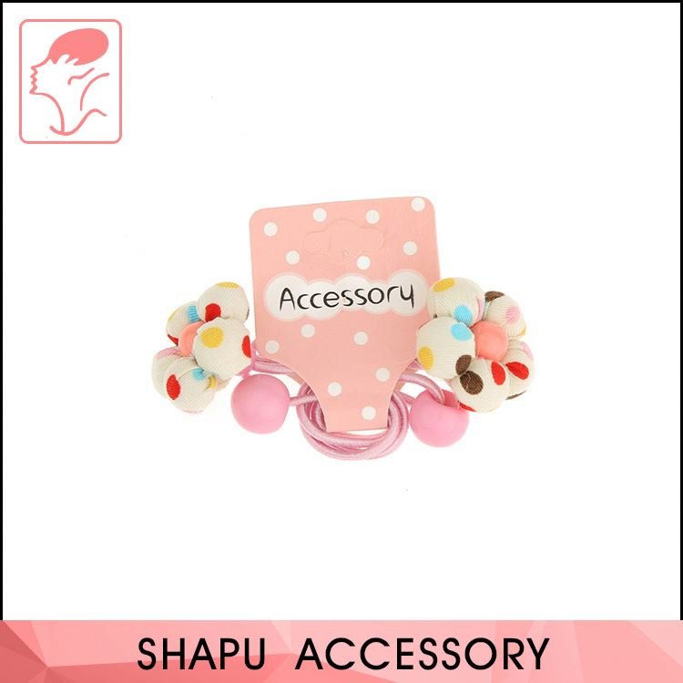 Hot Sale Free Logo Eco-Friendly Elastic Hair Bands