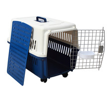 Hot Selling Air Conditioned Plastic Pet Travel Carrier