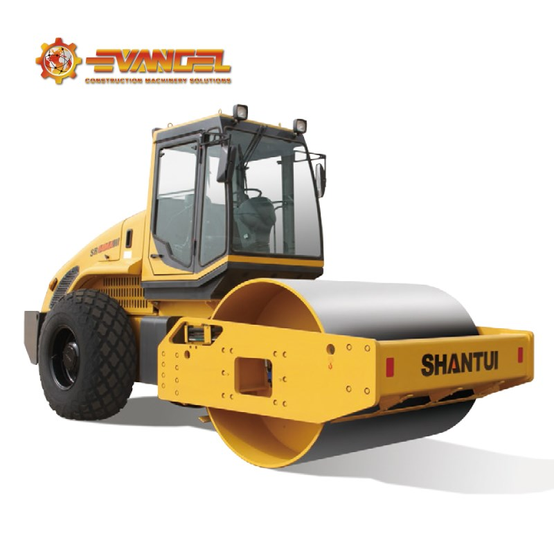 SHANTUI 18T single drum road roller SR18M-2 manual road roller