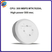 CPU: 300 MBPS MTK7620A; High power 500 mw intelligent AP suction a top TM602 wireless ap, router, AC controller gateway