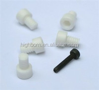 Wear Resistance White Alumina Ceramic Screw And Nut