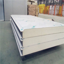 Decorative Corrugated Metal Fireproof PU Sandwich Wall Panel