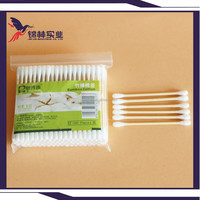 Bamboo Cotton bud of alcohol cotton swab in bamboo Tube