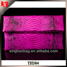 Fancy evening bags ladies clutches wholesale snake skin clutches and purses