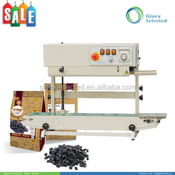 Trade Assurance electric continuous auto continuous band plastic bag and film sealer